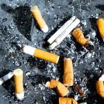 Pykanie szlugów jest pewnym z z większym natężeniem katastrofalnych nałogów